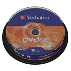 DVD VIRGEN BOBINA 10 VERBATIM