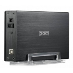 CAJA EXTERNA 3,5 SATA -IDE USB 2.0 3GO NEGRA