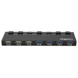 HUB USB 7 PUERTOS 4X3.0 COOLBOX