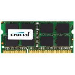MEMORIA 8GB DDR3 PC 1600 CRUCIAL SODIM