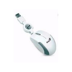 RATON GENIUS MICROTRAVELER V2 USB WHITE