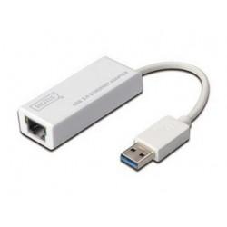 ADAPTADOR USB A RED 10-100-1000 USB 2.0 - 3.0 DIGITUS