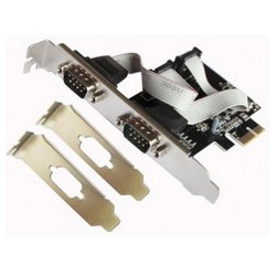 TARJETA PCI-X 2-SERIE L-LINK (PERFIL BAJO)