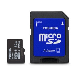 TARJETA MEMORIA MICRO SD 32GB TOSHIBA clase 10 (canon incluido)