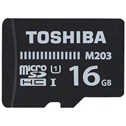 TARJETA MEMORIA MICRO SD 16GB TOSHIBA clase 10 S/A (canon incluido)