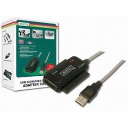 ADAPTADOR USB 2.0 IDE & SATA DIGITUS