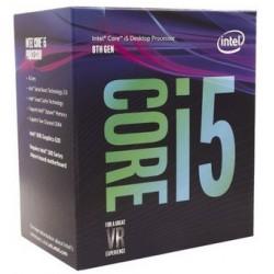 PROCESADOR INTEL CORE i5- 8400 BOX 2.8Ghz 9mb L36 1151
