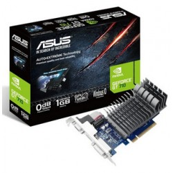 T.GRAFICA GFORCE GT710 ASUS 1GB DDR-3 SILENT