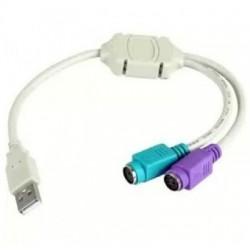 3GO CABLE CONVERSOR DE USB A PS2
