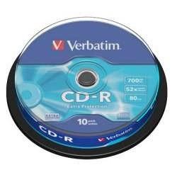 CD VIRGEN VERBATIM BOBINA 10 UDS -R
